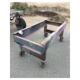 Mobile Steel Frame Work Table - 35 x 72 x 32