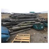 All Wood in yard