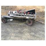Farm Wagon/Trailer w/ Steel Deck ~9