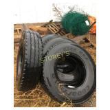 4 Goodyear Truck Tires - G288 MSA