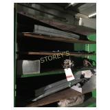 Contents of Green Shelf: Carburetors, Alumin, Etc.