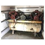 DeVilbiss w/ 2 Twin Head Compressors