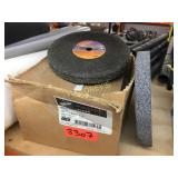 Box of 5 Charget 8 x 1 x 5/8 Grinding Wheels + 1