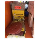 """~240 Pieces of Klingspor 5"""" x 125mm Discs"""