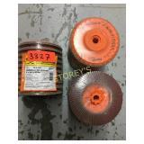 10 Walter Flap Discs - 5 x 5/8-11 GR80