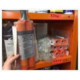 (4) Kits of Kent Alum Sealer Adhesive & (2) Norton