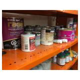 Body Filler, Gasket Sealant, Paint, Etc.