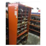 Orange Open Adjustable Parts Cabinet