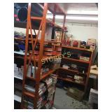 8 Tier Orange Metal Dexion Rack - 36 x 12 x 87