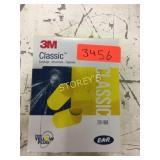 Box of 3M Classic Ear Plugs
