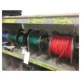 Top Shelf of Assorted Wire