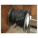 Spool of Black Wire