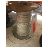 Reel of White Wire