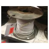 Spool of White Wire - 12-19