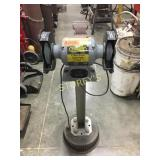 "TradeMaster 6"" Bench Grinder w/ Vice"