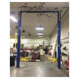 Twin Post 10,00lbs Above Ground Rotary Hoist