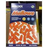 Box of Moldex Disposable Foam Earplugs