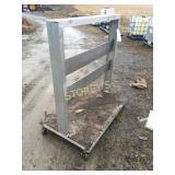 Mobile A-Frame Alumin Rack ~48 x 30 x 35