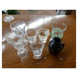 7-Piece Misc. Small Glassware