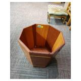 Large Wooden Bucket