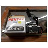 Pentax ZX-5N Silver Camera