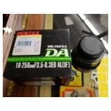 Pentax 18-250mm Lense