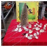 43 - NEW WMC SISAL TREE & LOTS MORE