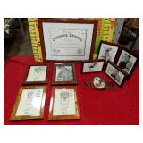 43 - WMC NEW LOT OF PIC FRAMES INCLUDES MOM