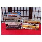 11 - LOT OF VHS INCLUDES BEETHOVEN