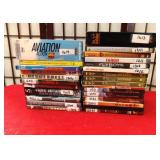 11 - LOT OF DVDS INCLUDES AVIATION