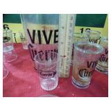 392 - COLLECTIBLE CEURVO VIVE GLASSWARE