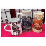 392 - COLLECTIBLE STEINS MULTI-THEMED