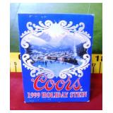 392 - COLLECTIBLE COORS 1999 HOLIDAY STEIN