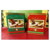 392 - COLLECTIBLE BUD HOLIDAY STEINS IN BOXES