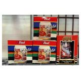 392 - COLLECTIBLE NASCAR STEINS IN BOXES