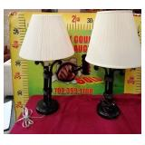 78 - LIKE NEW PAIR OF TABLE LAMPS W/ SHADES