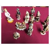 380 - COLLECTIBLES BEARS & PEOPLE STATUES