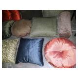 11 - LARGE LOT OF CLEAN THROW PILLOWS