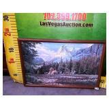 11 - SIGNED FRAMED LANDSCAPE WALL ART