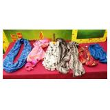 11 - NWTs LOT OF COLORFUL SCARVES