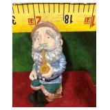68 - SMOKING A PIPE FRIENDLY GNOME GARDEN ART