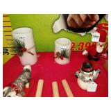 43 - WMC NEW LOT OF HOLIDAY CANDLES & MORE