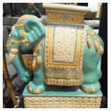 11 - ELEPHANT GARDEN STOOL