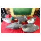 409 - LOT OF VINTAGE RUBBER DUCK DECOYS