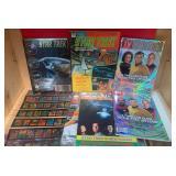 59 - STAR TREK STICKER BOOK 7 MAGAZINES (D32)