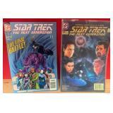 59 - STAR TREK NEXT GENERATION COMIC BOOKS