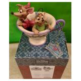 N - DISNEY TRADITIONS TEA FOR TWO FIGURINE (C22)