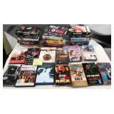 11 - 33 PCS VHS MOVIES