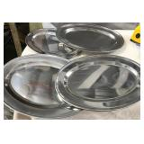 """174 - SET OF 4 18"""" PLATE CHARGERS"""