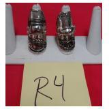 11 - 2 CUSTOM MADE COSTUME JEWELRY RINGS (R4)